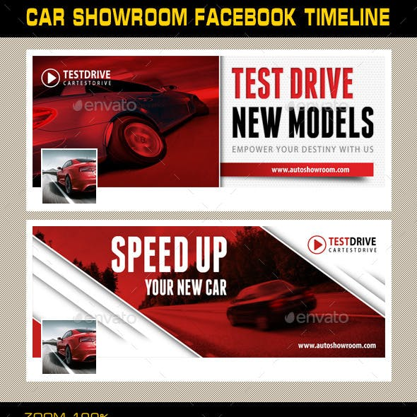 Car Showroom Facebook Timeline