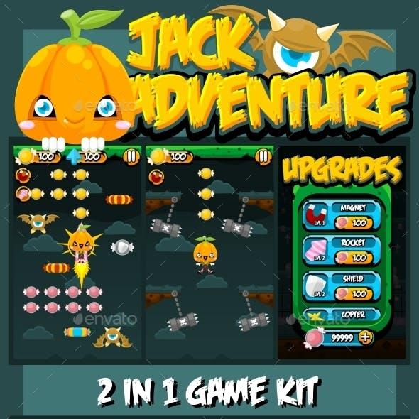 Jack Adventure Game Kit