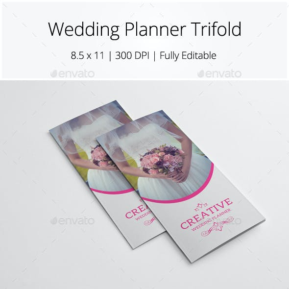 Wedding Planner Trifold