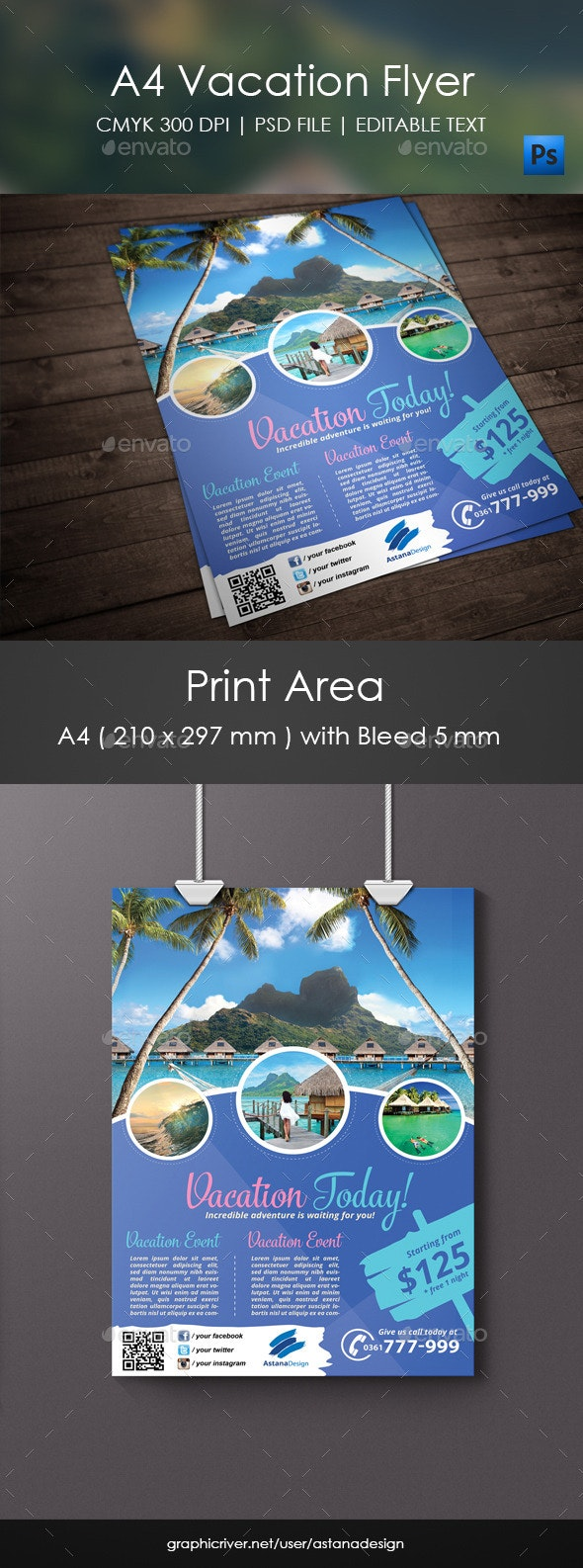Vacation Flyer - Corporate Flyers
