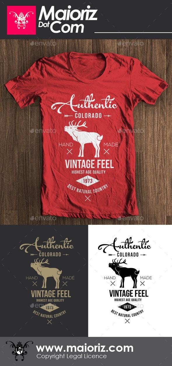 Authentic Vintage Tshirt - Clean Designs