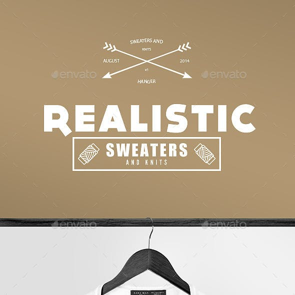 Realistic Sweaters & Knits Mock-up Pack