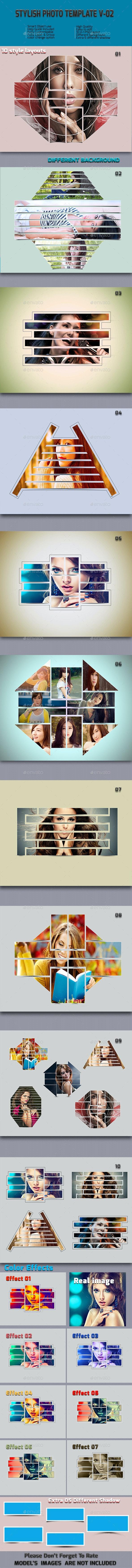 Stylish Photo  Frame Templates V-02 - Miscellaneous Photo Templates
