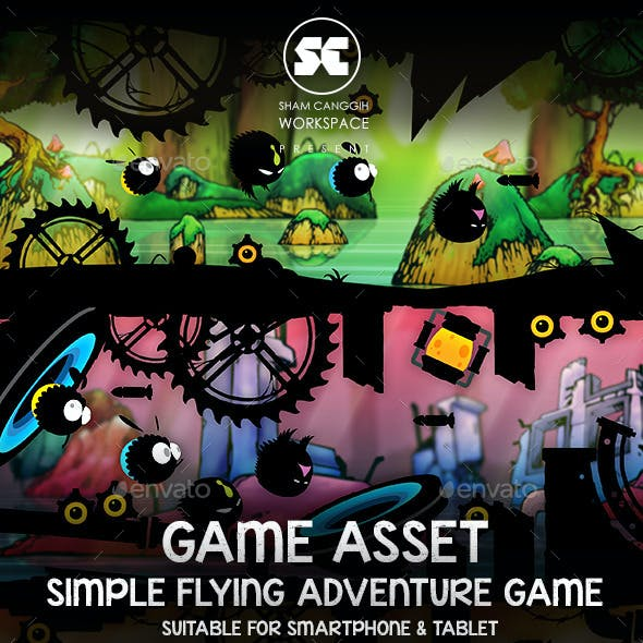 Flying Adventure Dark Style Game Kit