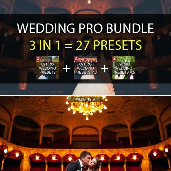 3-in-1 Pro Wedding Bundle