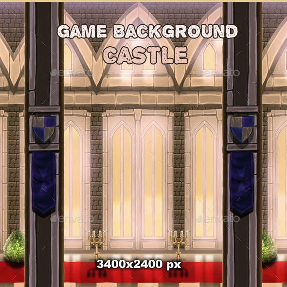 Game Background - Castle