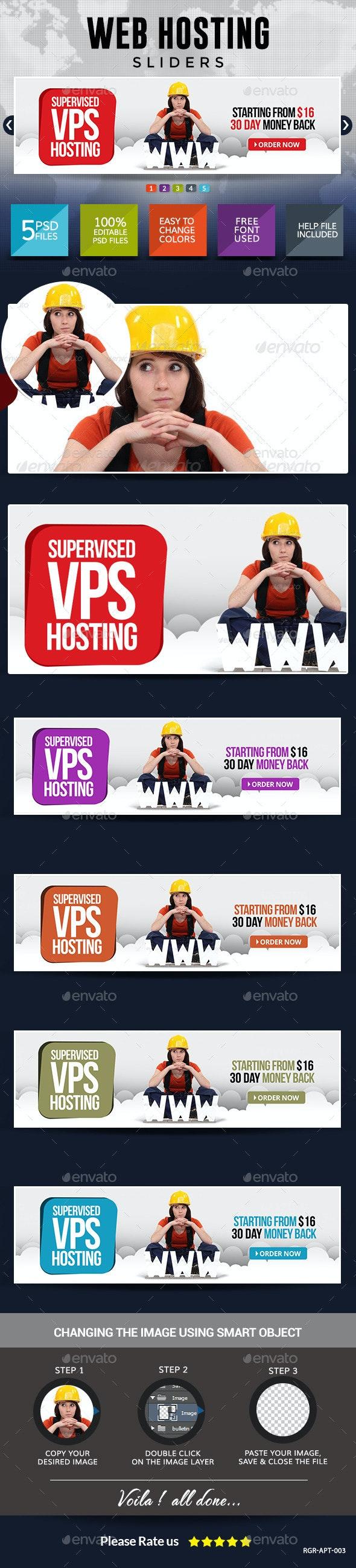 Web Hosting Slider Images - Sliders & Features Web Elements