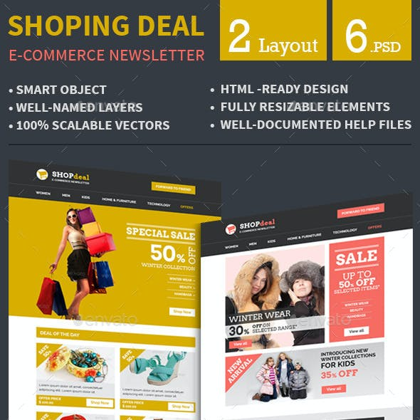 E-commerce Special Offer Email Template