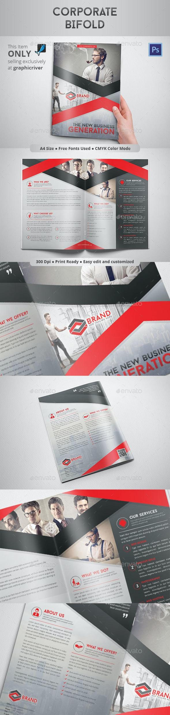 Corporate Bifold - Corporate Brochures
