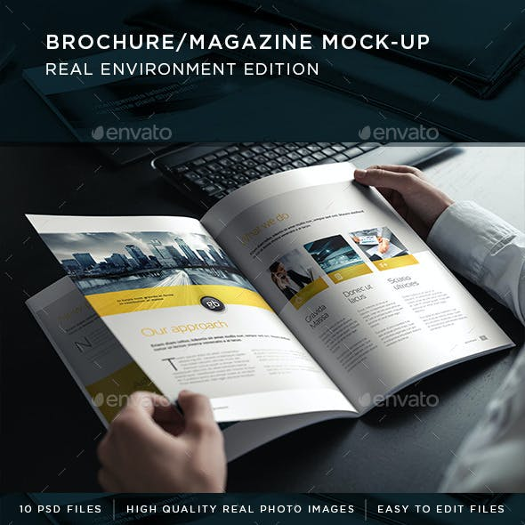 Brochure / Magazine Mock-Up
