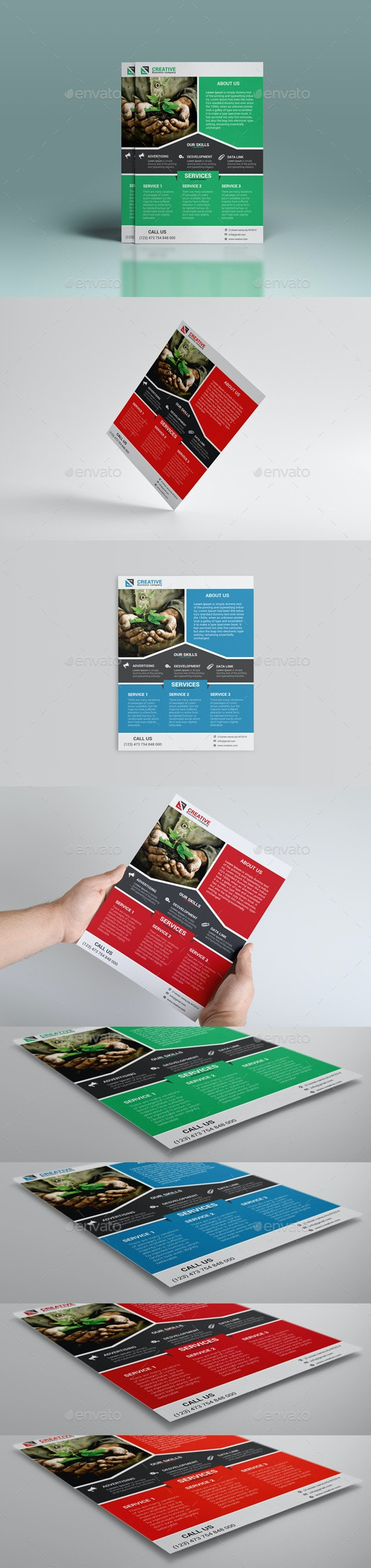 Green Business Flyer - Corporate Flyers