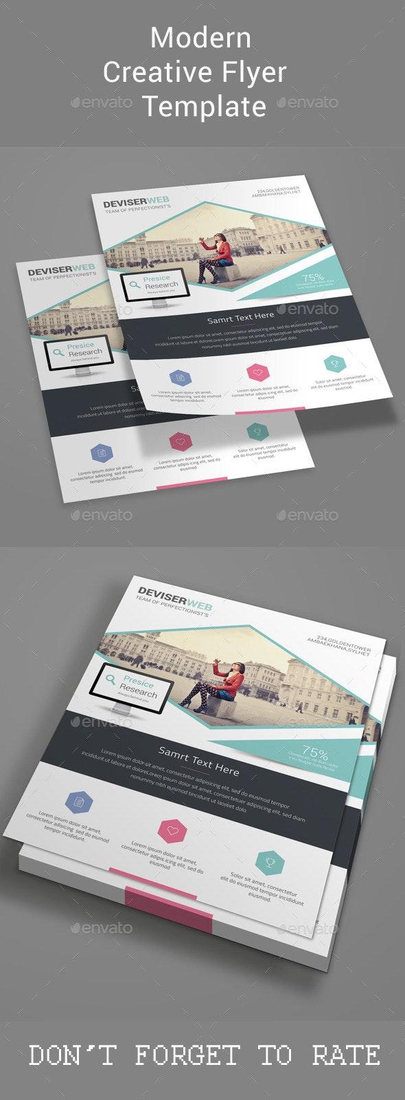 Modern Creative Flyer Template - Corporate Flyers