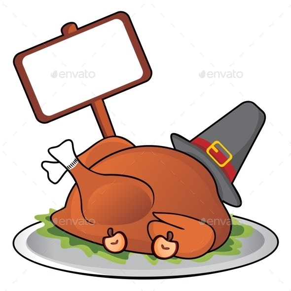 Thanksgiving Dinner - Food Objects