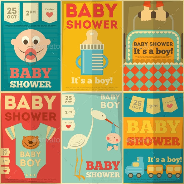 Baby Shower Posters - Birthdays Seasons/Holidays