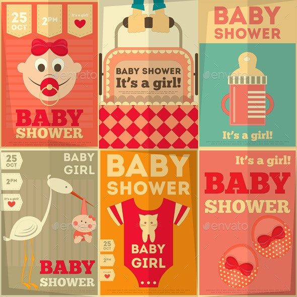 Baby Shower Posters - Miscellaneous Seasons/Holidays