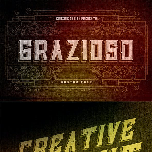 Grazioso Custom Font