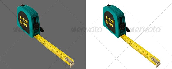 Tape Measure - Industrial & Science Isolated Objects