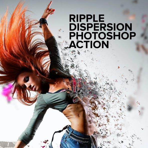 Ripple Dispersion Photoshop Action
