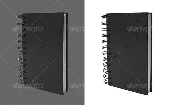 Closed Notebook - Home & Office Isolated Objects