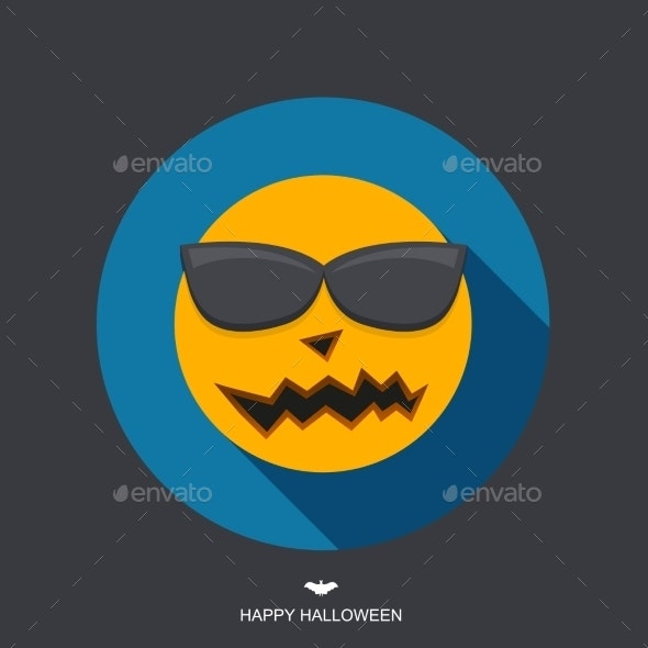Vector Modern Halloween Background - Halloween Seasons/Holidays