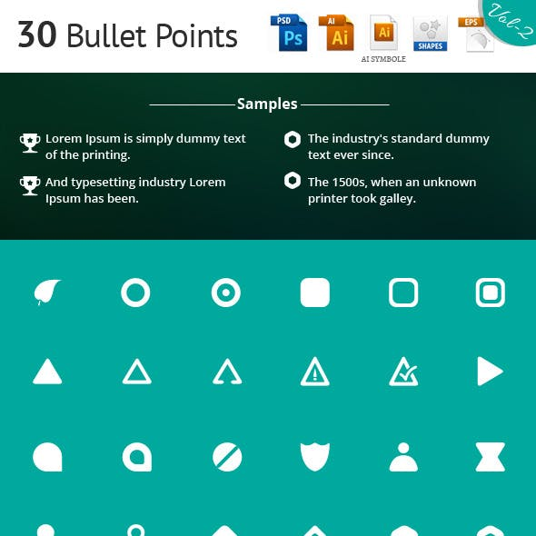 Bullet Points Vol 2