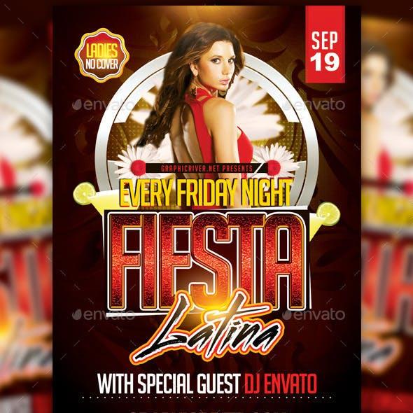 Fiesta Latina Flyer