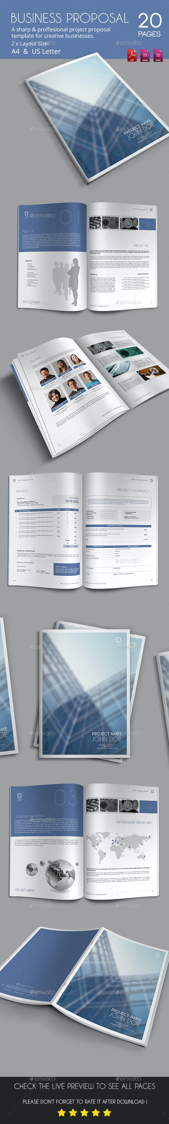 Business Proposal 2 - Proposals & Invoices Stationery
