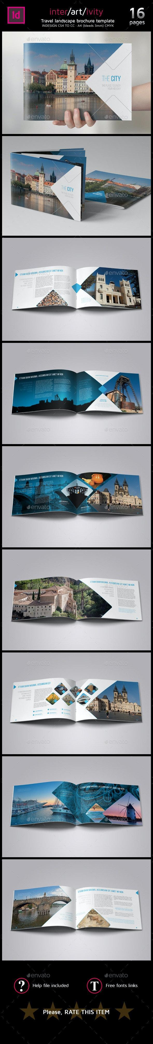 Travel / City guide brochure  - Informational Brochures