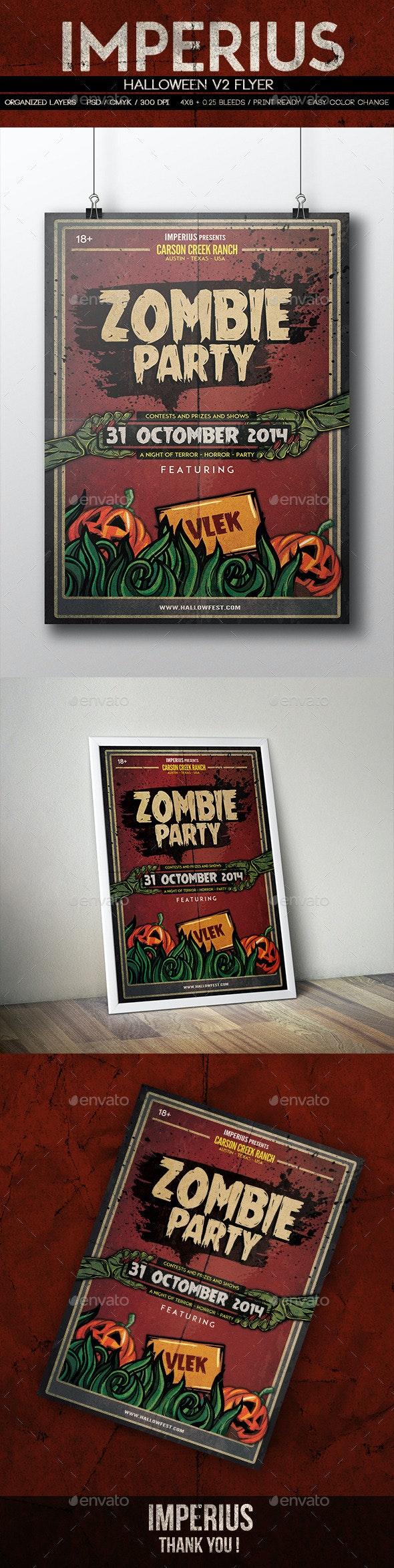 Halloween V2 Flyer - Events Flyers