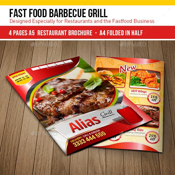 Fast Food Barbecue Grill