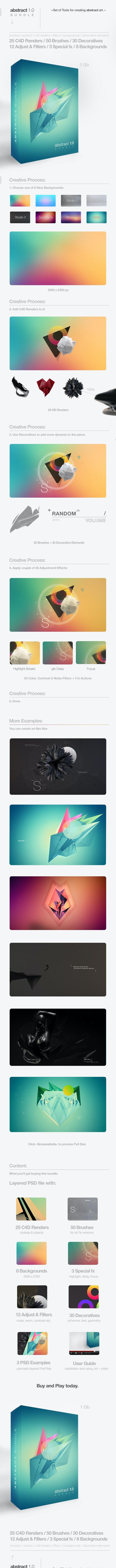 Abstract 1.0 Bundle - Brushes Photoshop