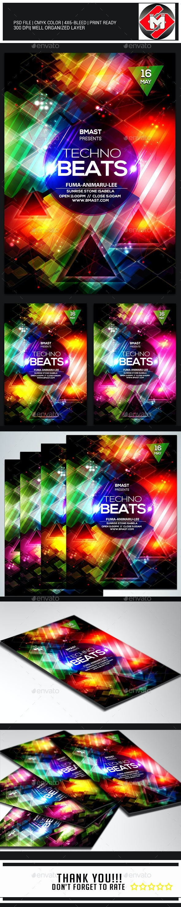 Techno Beats - Clubs & Parties Events