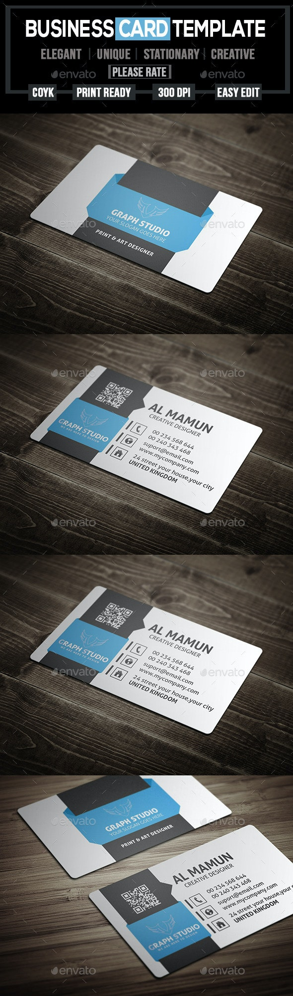 Creative Business Card-Vlo-6 - Creative Business Cards