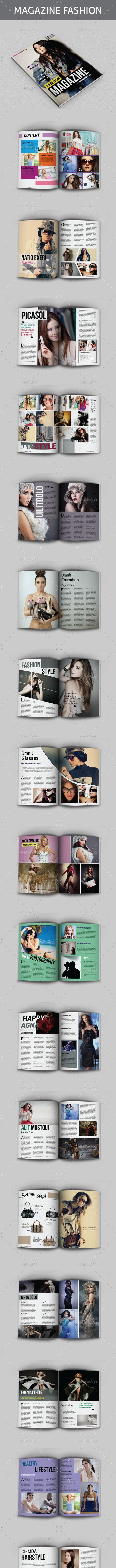 Fashion Magazine Templates - Magazines Print Templates