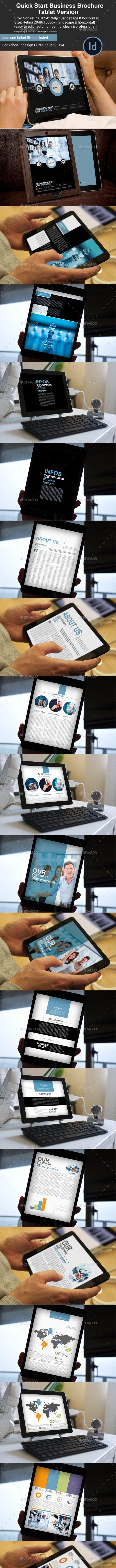Quick Start Business Brochure Tablet Version - Digital Books ePublishing