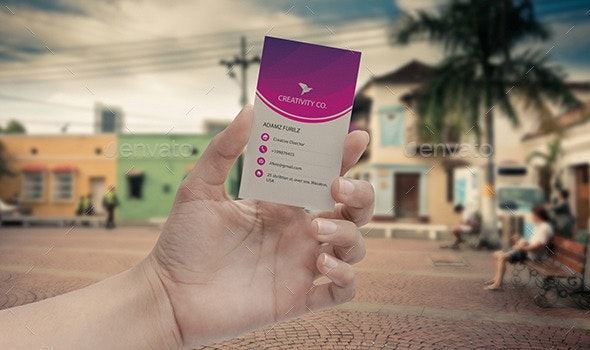 Creative Clean Business Card - Creative Business Cards