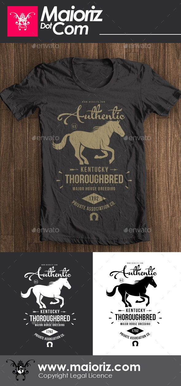 Authentic Vintage Tshirt V2 - Clean Designs