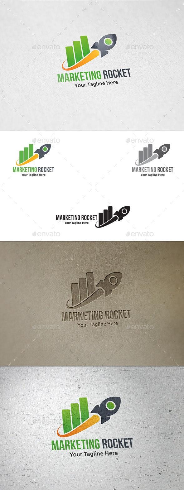 Marketing Rocket - Logo Template - Symbols Logo Templates
