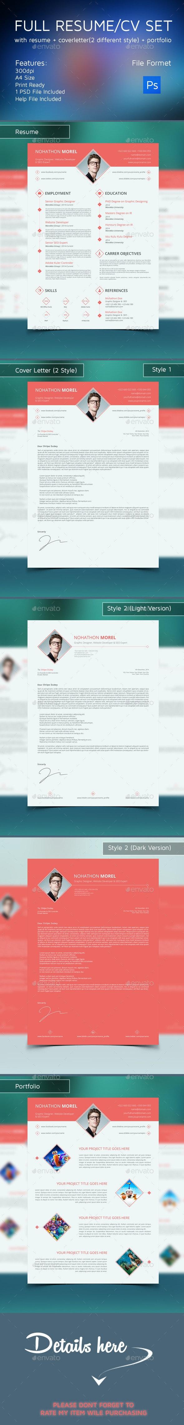 Full Resume Set - Resumes Stationery