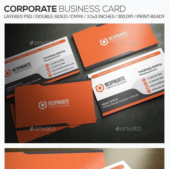 Corporate Business Card - RA56