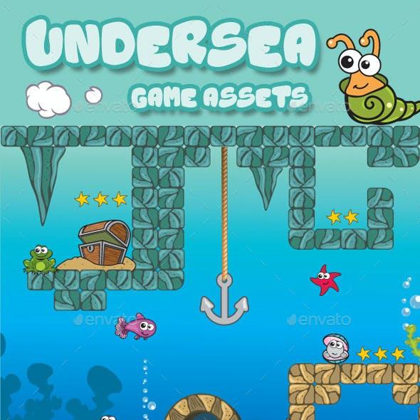 Undersea Game Assets V100