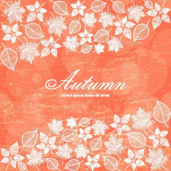 Autumn Color Background - Backgrounds Decorative