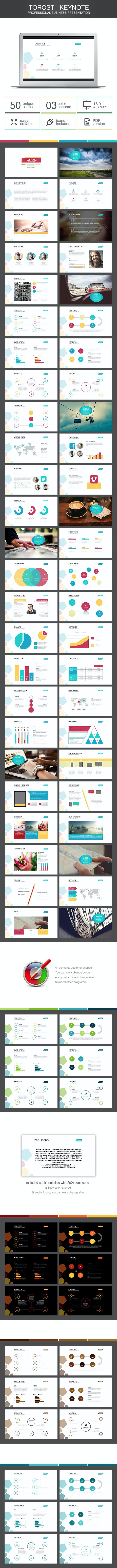 Torost - keynote - Business Keynote Templates