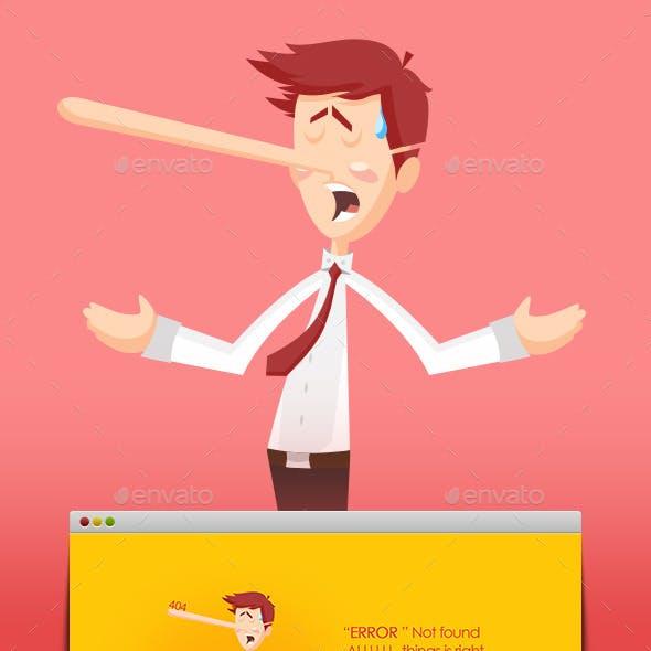 Liar Liar Error 404 Page Not Found