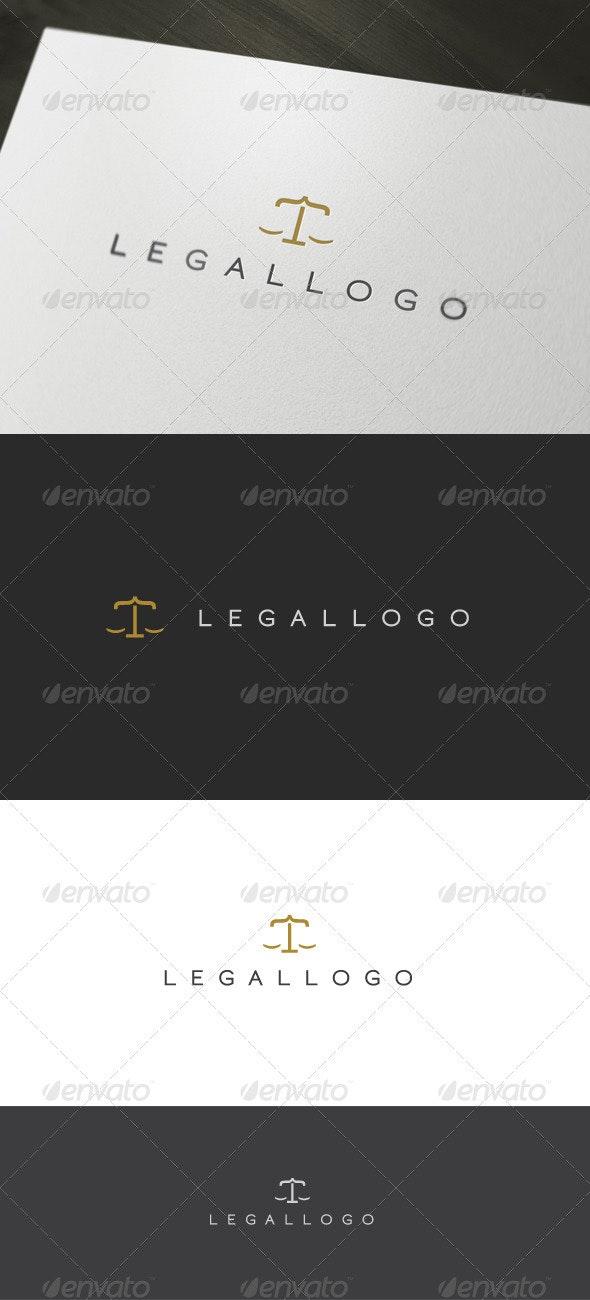 Legal Logo - Letters Logo Templates