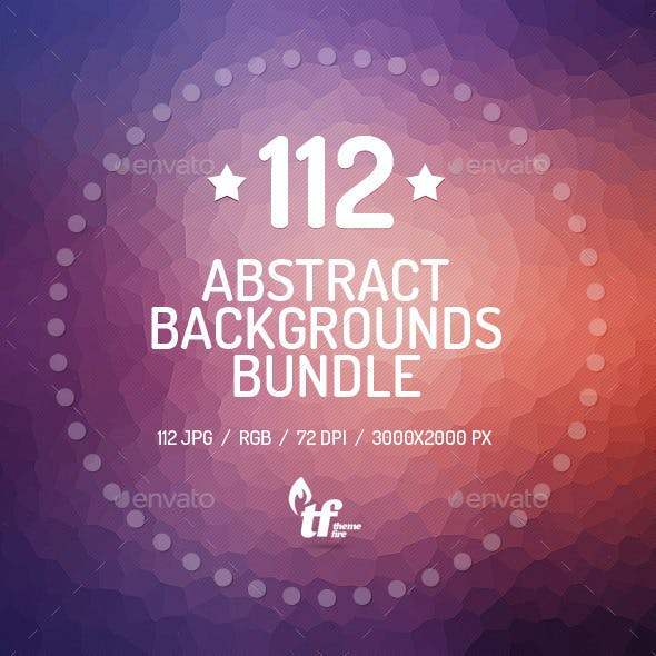 112 Abstract Backgrounds Bundle