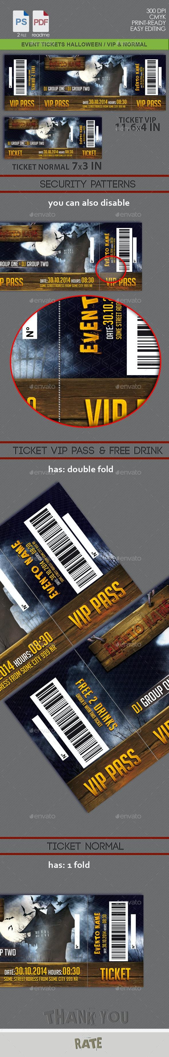 Halloween Events Tickets