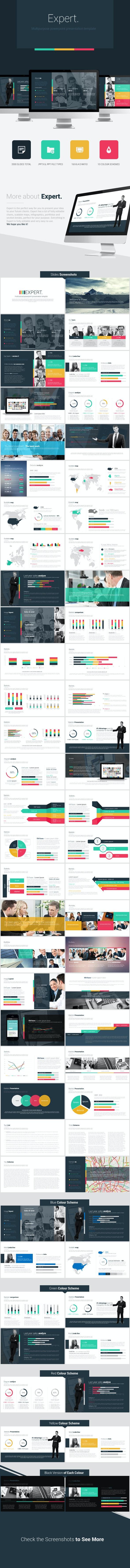 Expert Powerpoint Presentation Template - PowerPoint Templates Presentation Templates