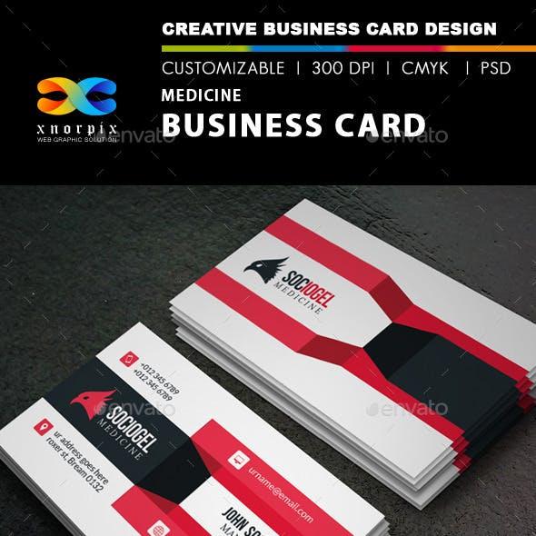 Medicine Business Card
