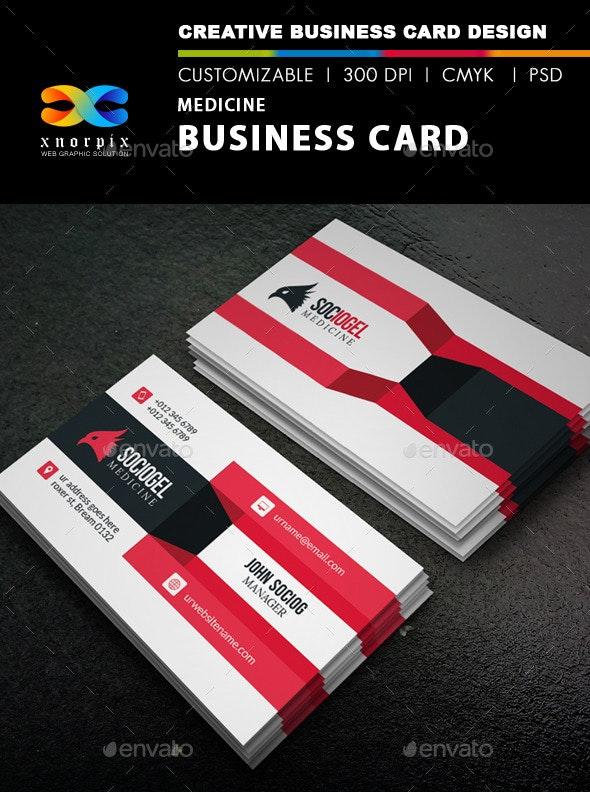 Medicine Business Card - Creative Business Cards